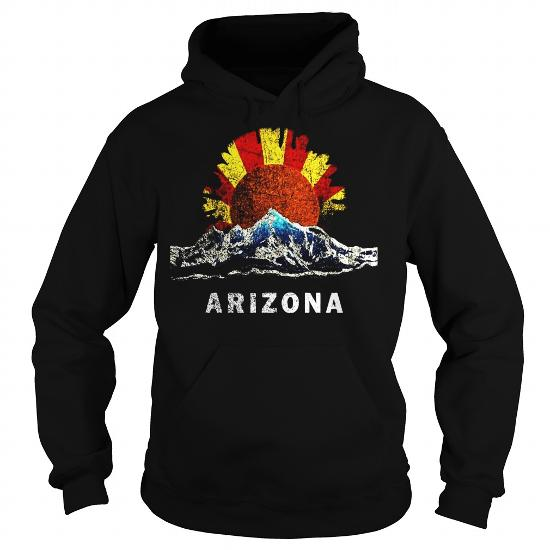Arizona Shirt Flag Inspired Mountain Scene – Arizona Tshirt