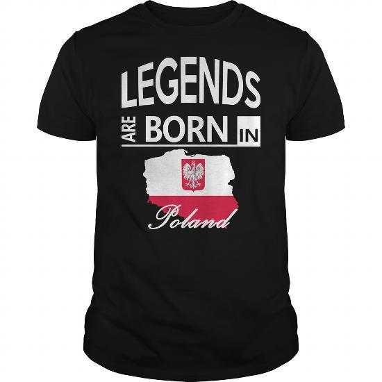 Legends Are Born In Poland Cool Polish Gift