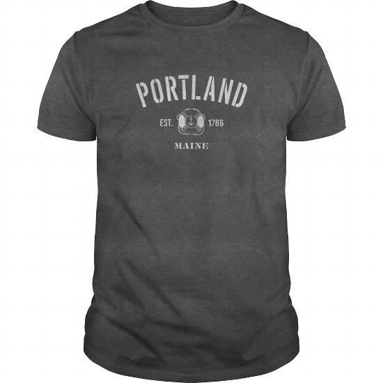 Portland Maine Est.1786 Sweater – Men, Women Sweatshirt Me