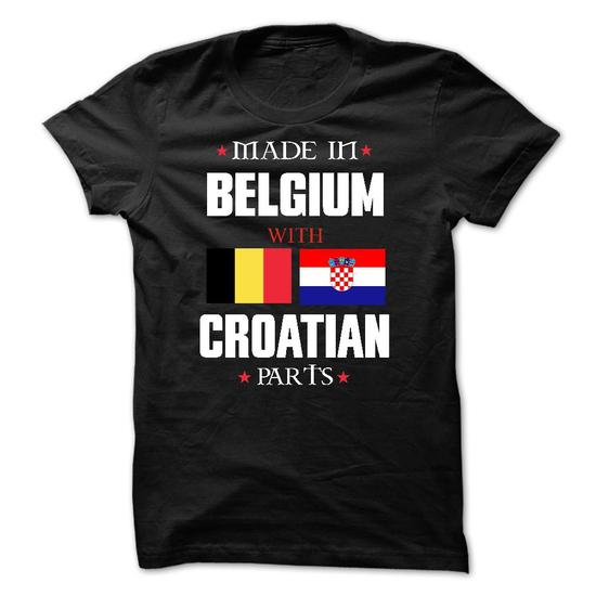 Made In Belgium With Croatian Parts