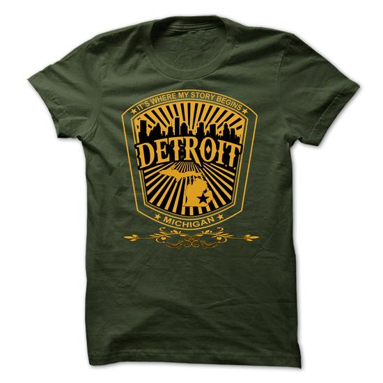 Detroit – Michigan Place Your Story Begin