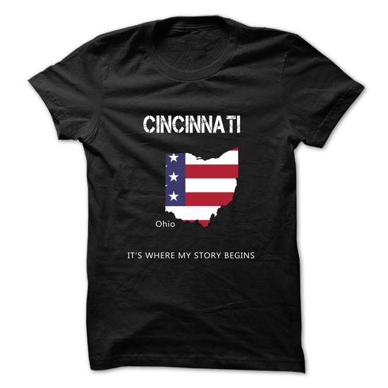 [New Design] Cincinnati – Its Where My Story Begins
