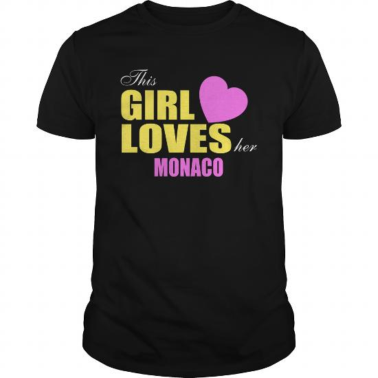 This Girl Loves Her Monaco Tee Shirts