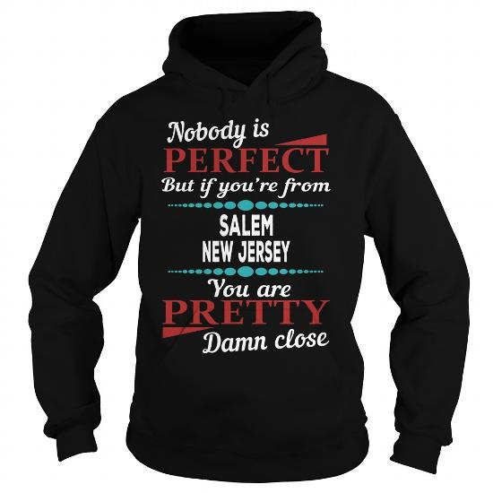 Salem New Jersey Damn Close T Shirts