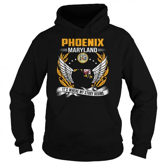 Best Phoenix Maryland My Story Beginsfront Shirt