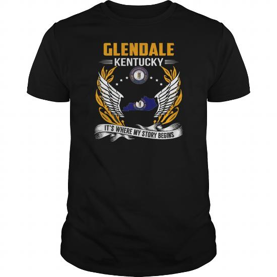 Best Glendale Maryland My Story Beginsfront Shirt