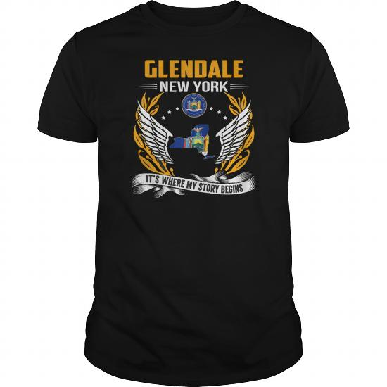 Best Glendale Oregon My Story Beginsfront Shirt