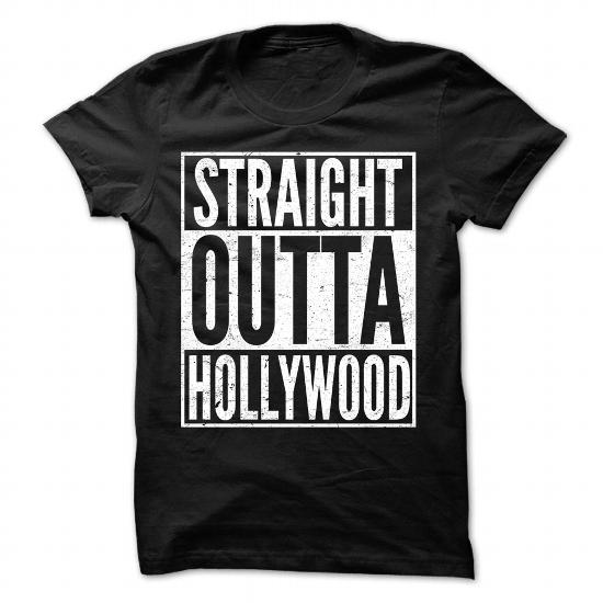 Straight Outta Hollywood – Cool T-Shirt !!!
